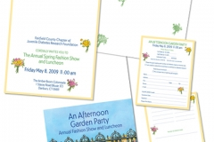 JDRF Garden Party Invitation